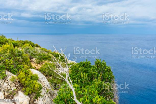 Photo of Greece, Zakynthos, Aspiration for silence on top of a cliff