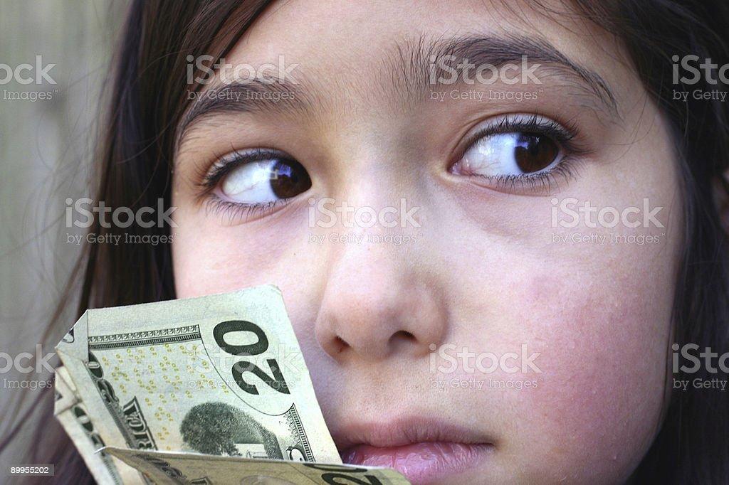Greed stock photo