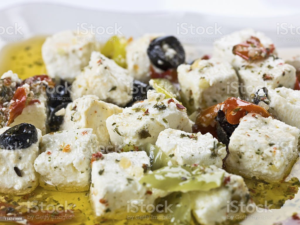 Greek Antipasto royalty-free stock photo