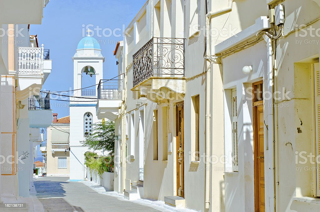 Greek architecture. stock photo