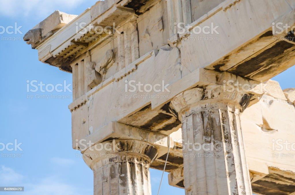 Greek architecture stock photo