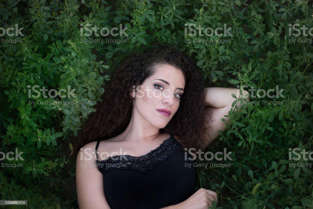 Greek beauty stock photo