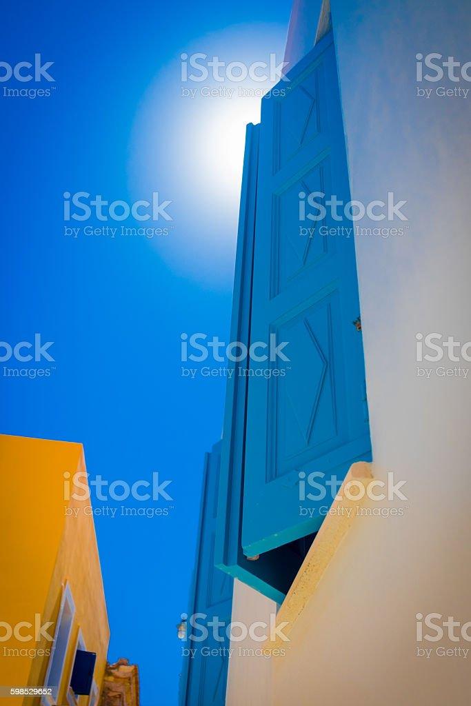 Grec ciel bleu photo libre de droits