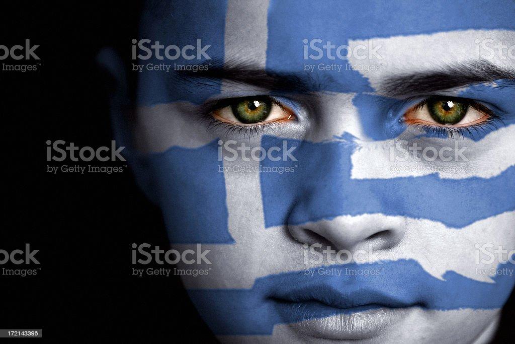 Greek boy stock photo