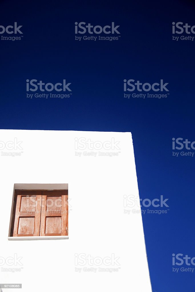 greek building royalty-free stock photo