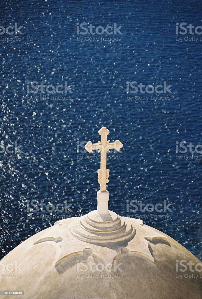 Greek Church 1 royalty-free stock photo