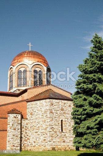 istock Greek church of Annunciation in Philadelphia suburbs 182761248