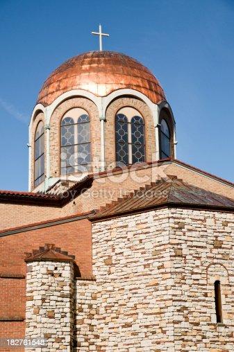 istock Greek church of Annunciation -Philadelphia suburbs 182761548