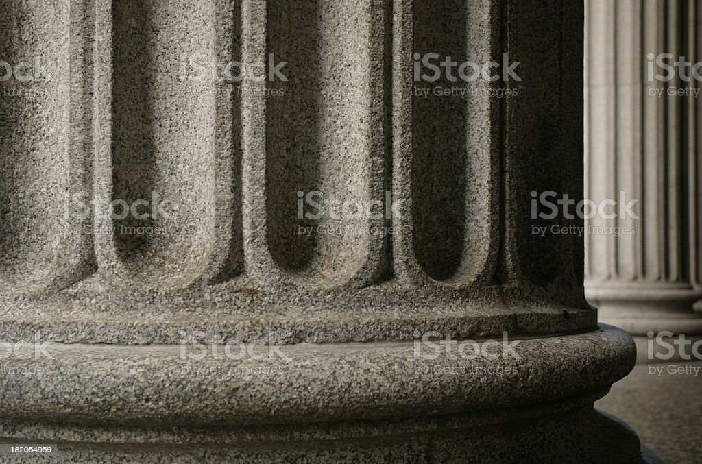 Greek Columns royalty-free stock photo