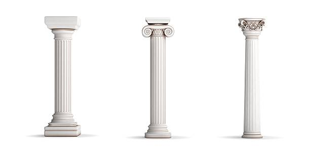 Greek columns Greek columns classical greek stock pictures, royalty-free photos & images