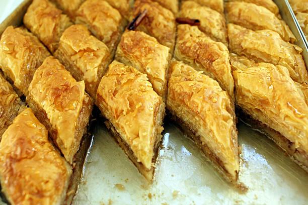 Griechische Delikatessen-baklava sweet – Foto