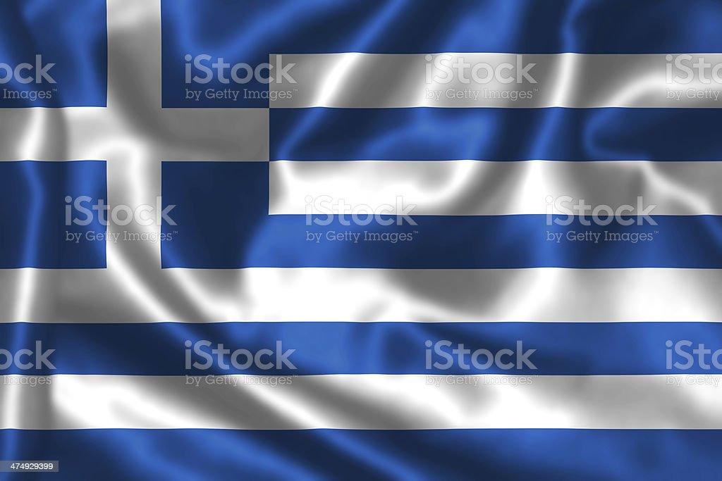 Greek flag. stock photo