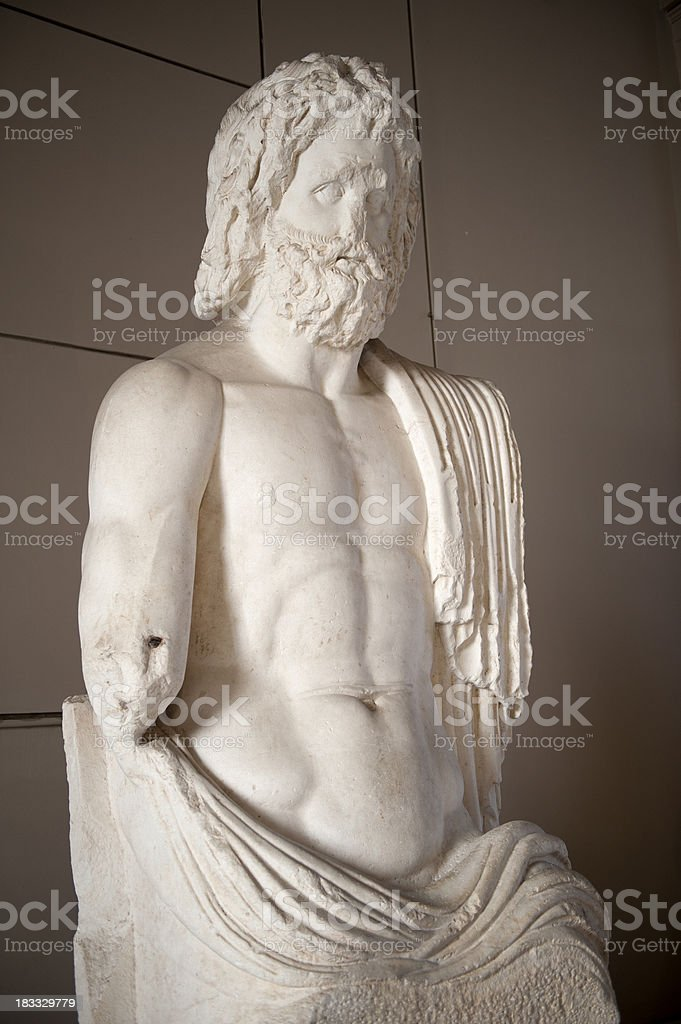 greek god royalty-free stock photo