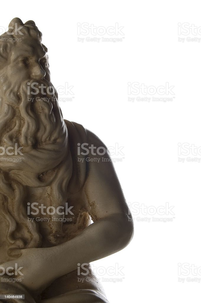 Greek god statue royalty-free stock photo