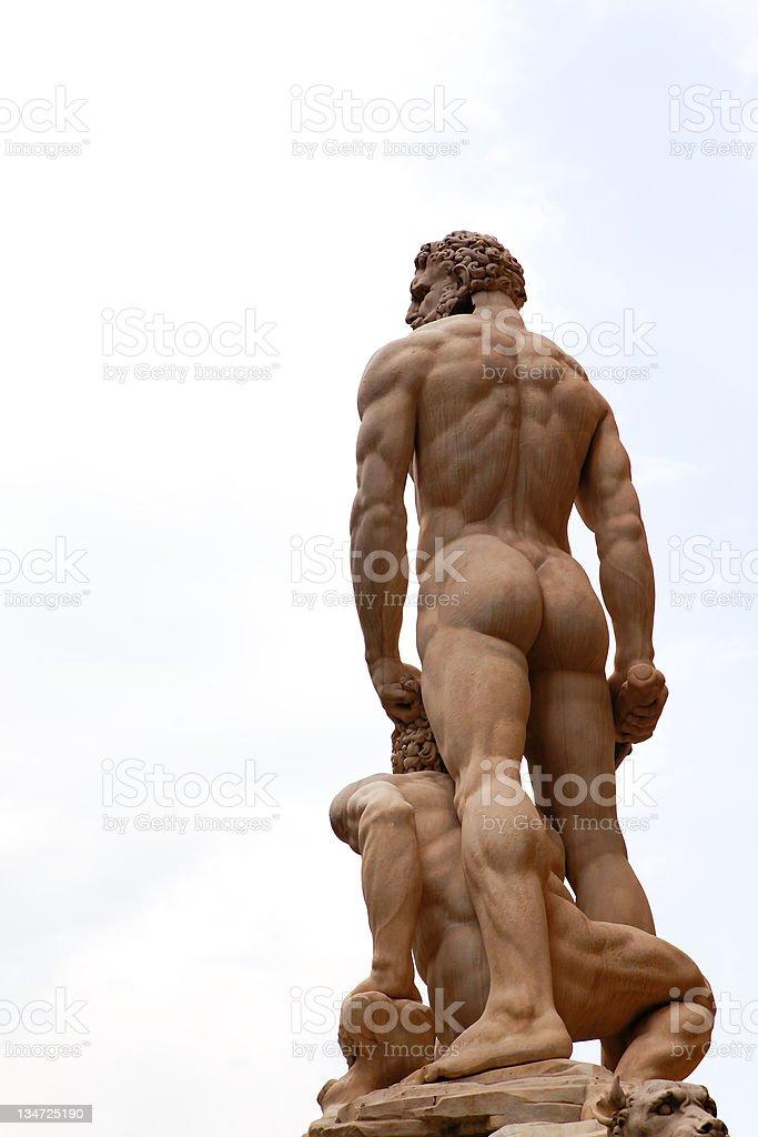Greek God Zeus royalty-free stock photo