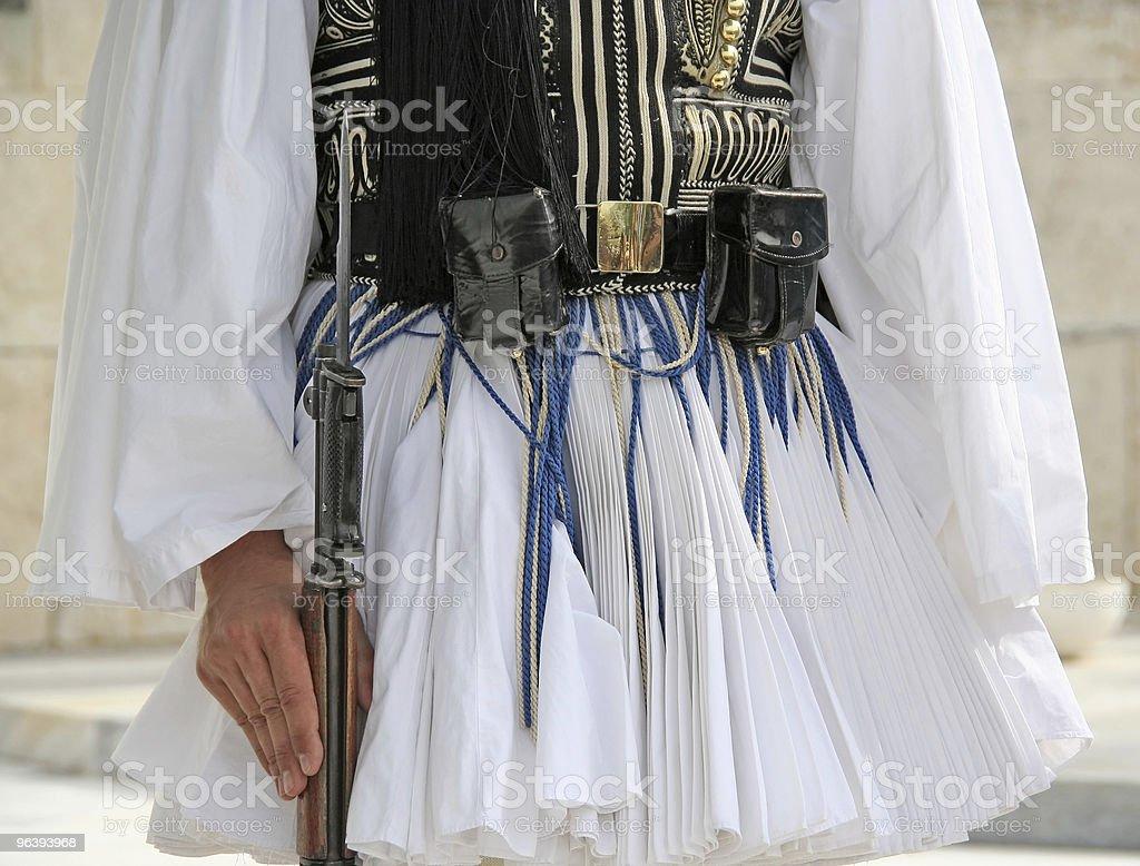 ギリシャガードウエスト - アテネのロイヤリティフリーストックフォト