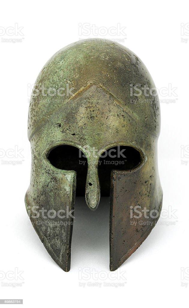 Greek Helmet royalty-free stock photo