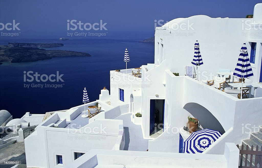 Greek Holiday royalty-free stock photo