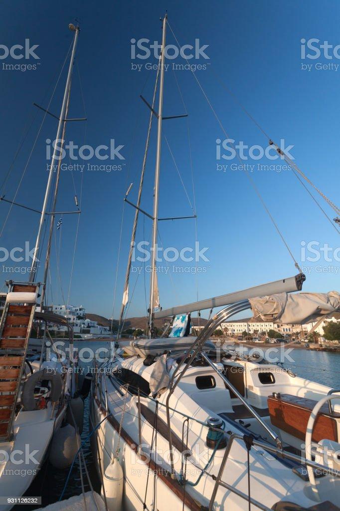 Yunan tatil zamanı - Royalty-free Ada Stok görsel