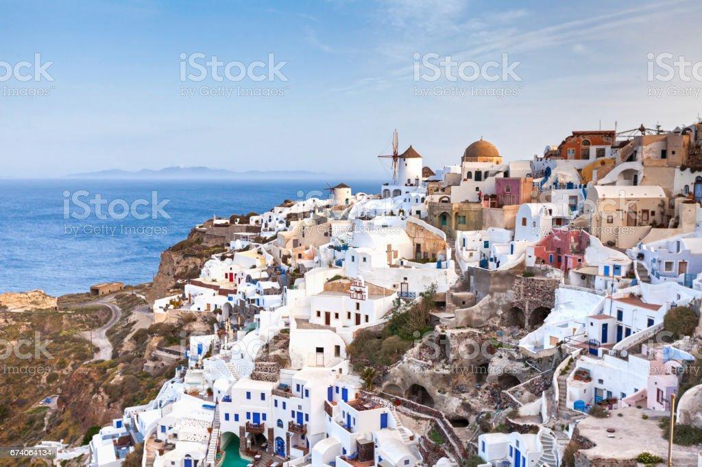 Greek Island of Santorini royalty-free stock photo
