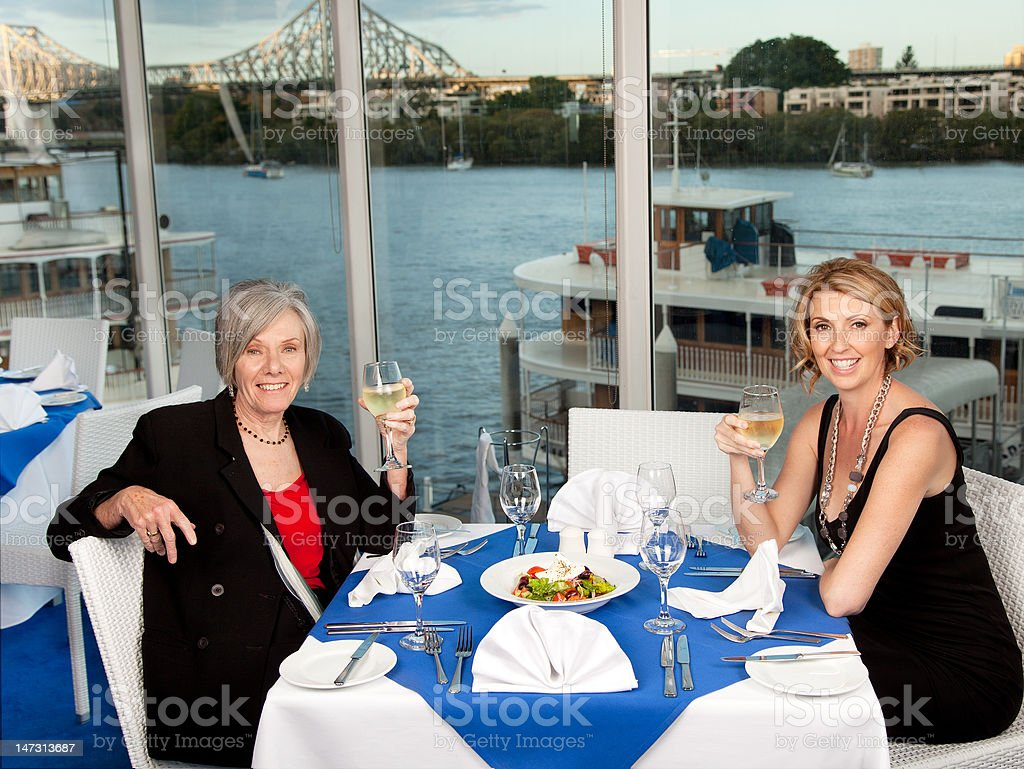 Greek Lunch royalty-free stock photo
