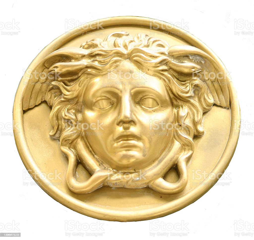 Greek medal royalty-free stock photo