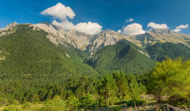 Greek Mount Olympus - Top peaks stock photo
