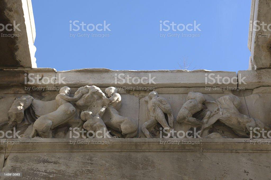 Greek Mythology Detail stock photo