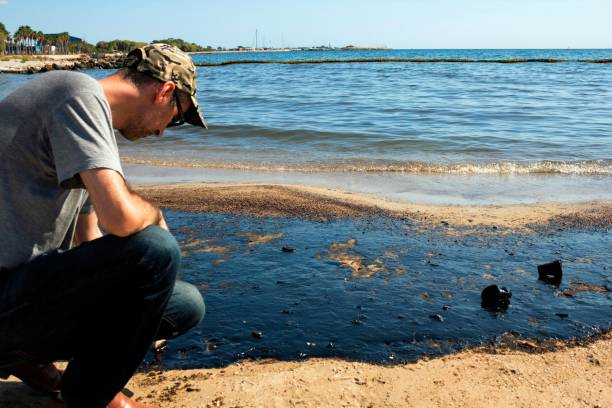 La marée noire grecque se propage à Athènes Riviera - Photo