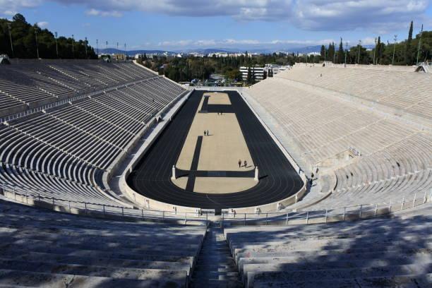 Estadio Olímpico Atenas - Banco de fotos e imágenes de stock - iStock