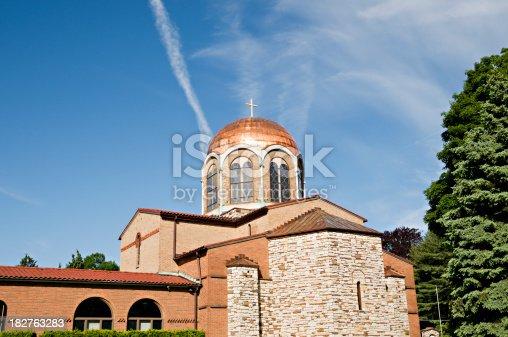 istock Greek Orthodox church of Annunciation in Pennsylvania 182763283