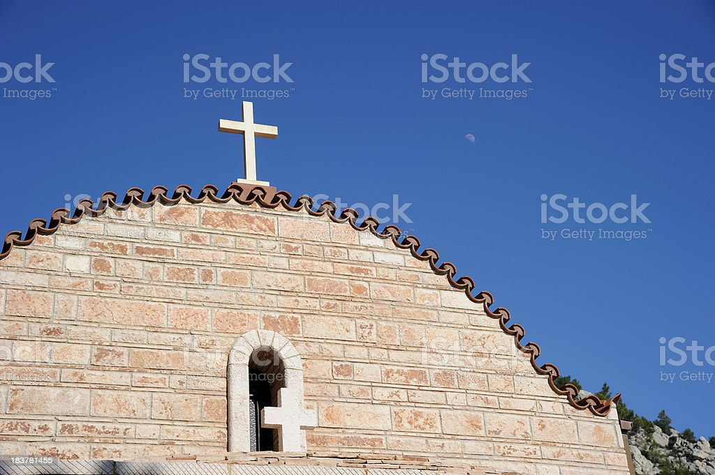 Greek Orthodox Church Top royalty-free stock photo