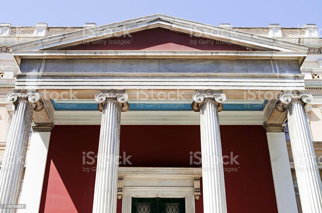 Greek Pillars royalty-free stock photo