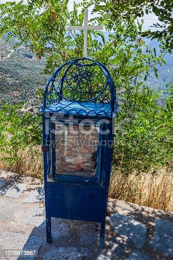 istock Greek Roadside Shrine, Greece 1279873867