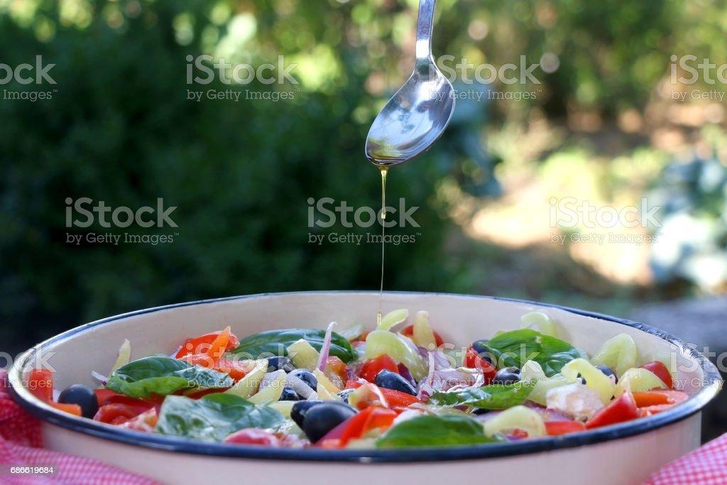 Greek Salad 免版稅 stock photo