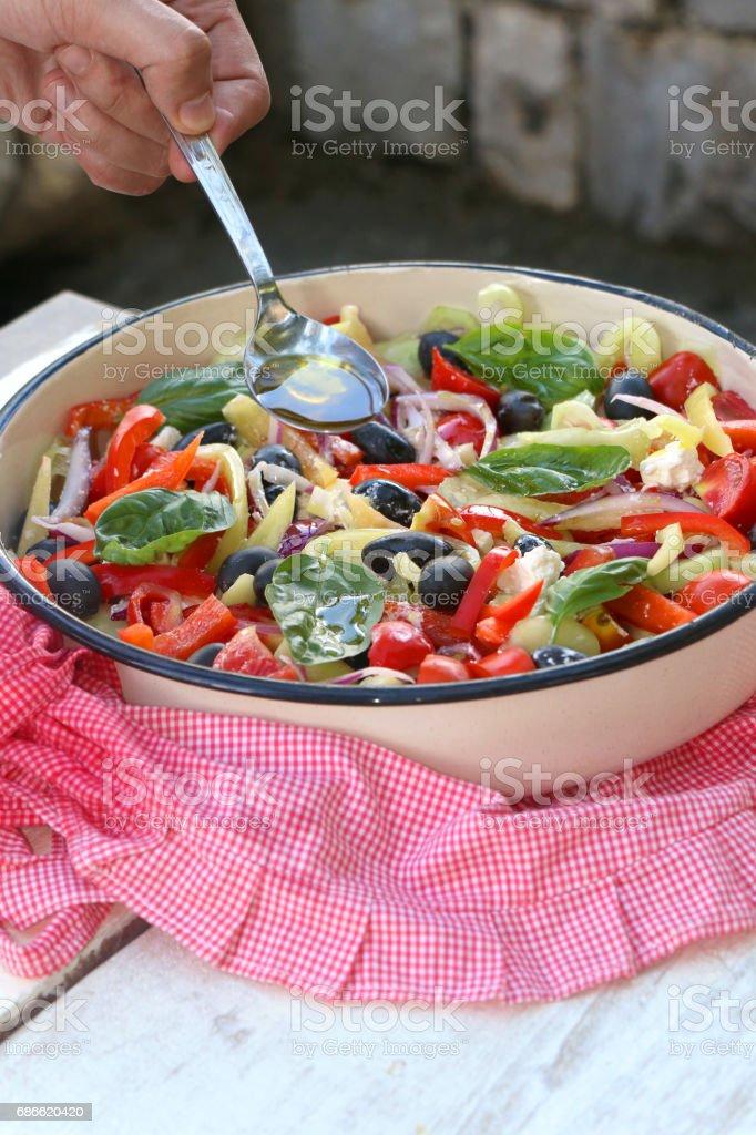 Greek Salad photo libre de droits