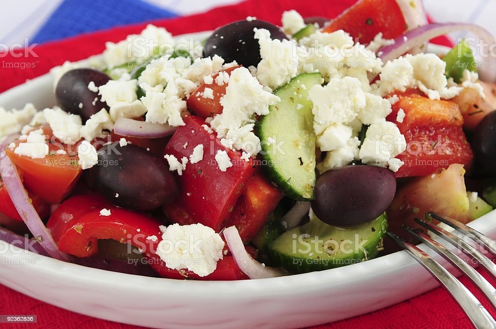 Griechischer Salat Lizenzfreies stock-foto