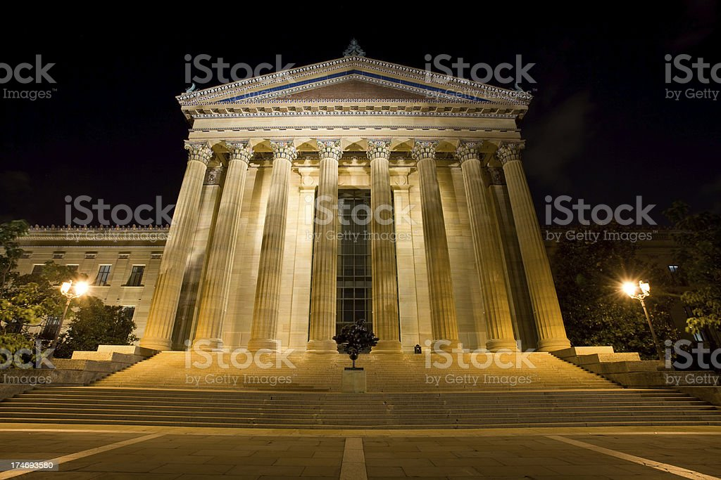 Greek Style Temple stock photo