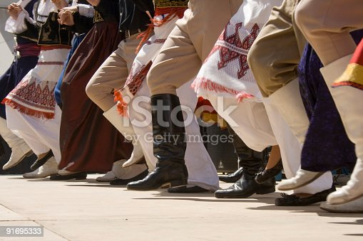 istock Greek traditional dancing 91695333