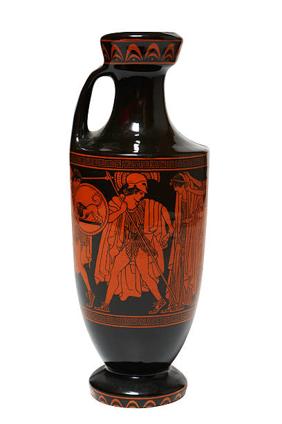Greek vase. stock photo