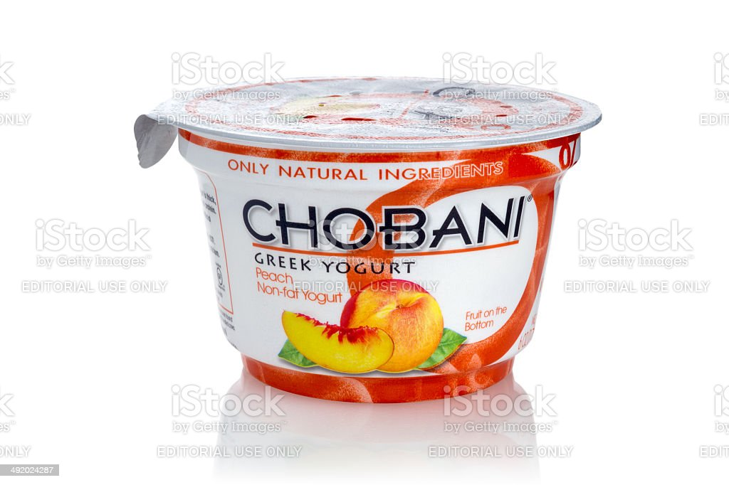 Greek Yogurt stock photo