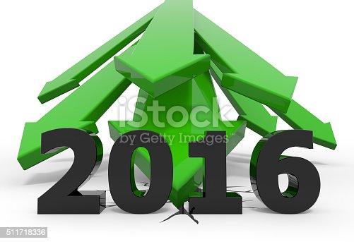 istock Green 3D arrow crash 2016 511718336