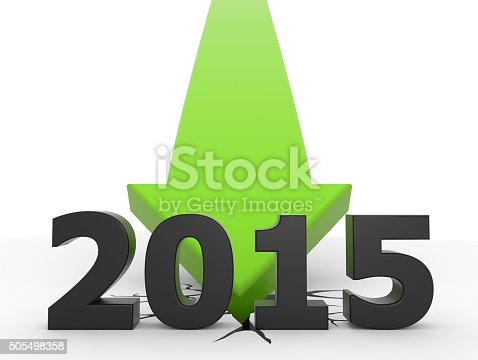 istock 2015 green 3D arrow crash 505498358