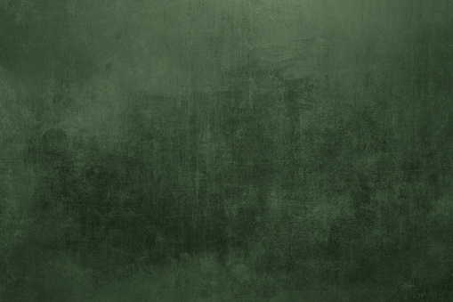 Old green wall abstract background or texture