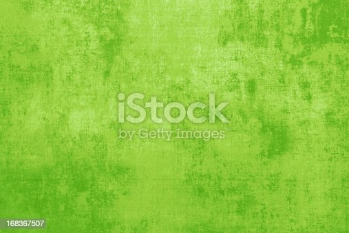 Distressed Grunge Textured Green Pattern Backdrop.