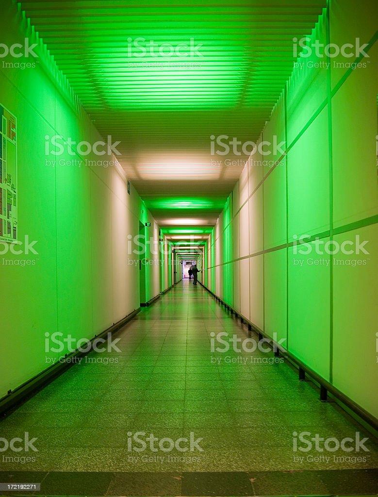 green aisle royalty-free stock photo