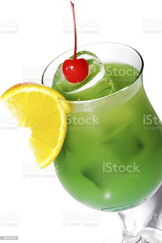 Green Alcoholic Cocktail - Royalty-free Alcohol Stockfoto