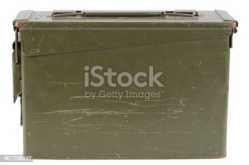 istock Green Ammo Box 907208642