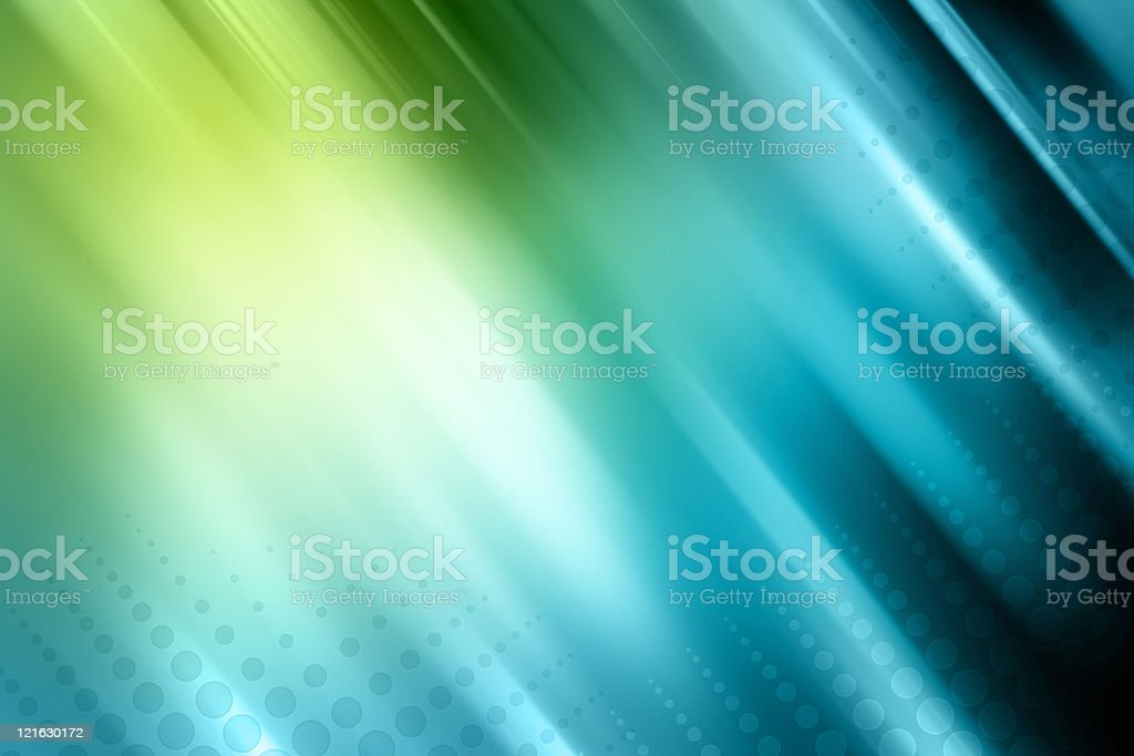 Green and blue abstract background stock photo