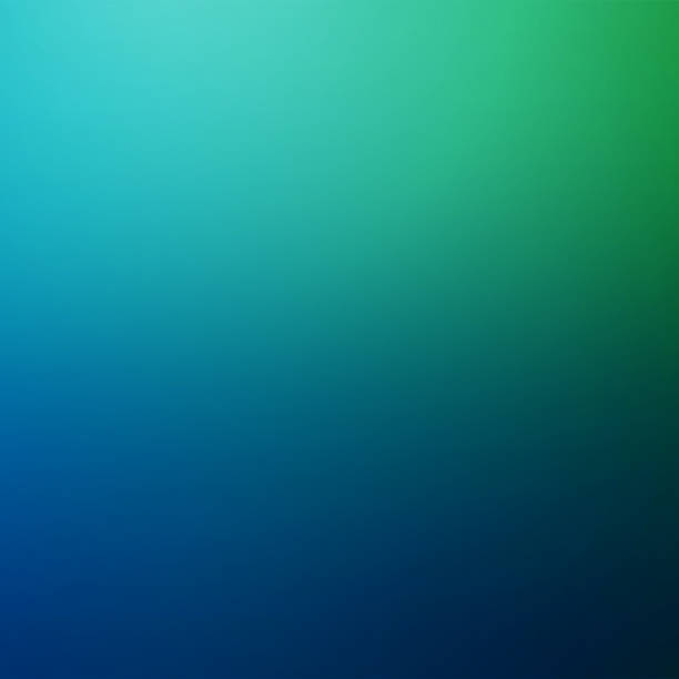 Green and Blue Blurred Motion Abstract Background Green and Blue Defocused Blurred Motion Abstract Background, Square Illustration gradient stock pictures, royalty-free photos & images